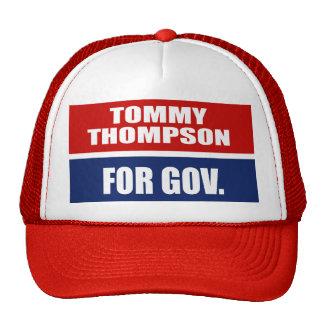 TOMMY THOMPSON PARA EL GOBERNADOR GORRO DE CAMIONERO