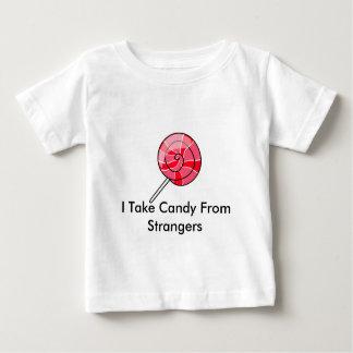 Tomo el caramelo de extranjeros camiseta para bebé