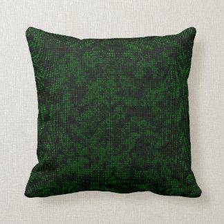 Tono medio Forest Green Cojín Decorativo