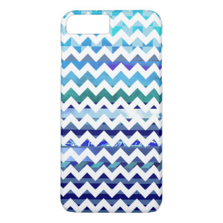 tonos del galón modelado azul funda iPhone 7 plus
