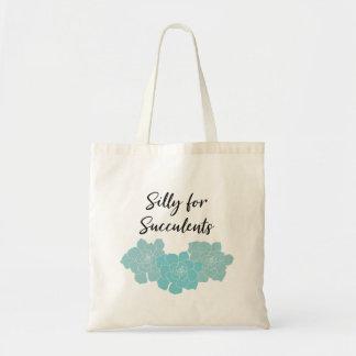Tonto para la bolsa de asas de los Succulents