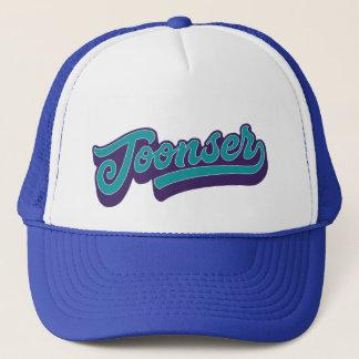 Toonser, gorra dórico del camionero del dialecto,
