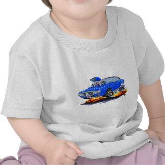 Top Azul-Negro 1969 de Firebird Camisetas