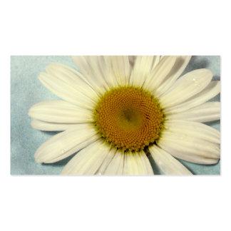 Top de la flor tarjetas de visita