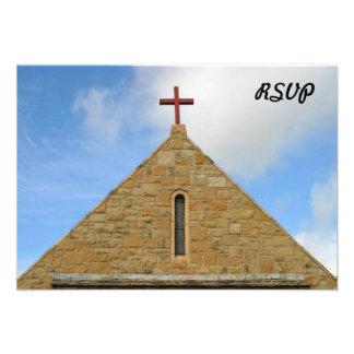 Top de la iglesia invitación