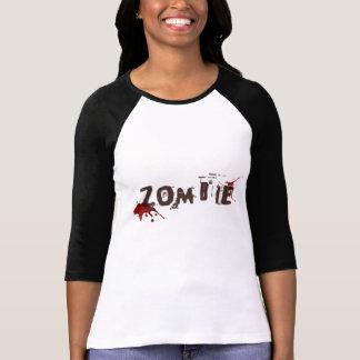 Top de la impresión del zombi de las mujeres