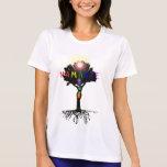 Top de Namaste Chakra Camiseta