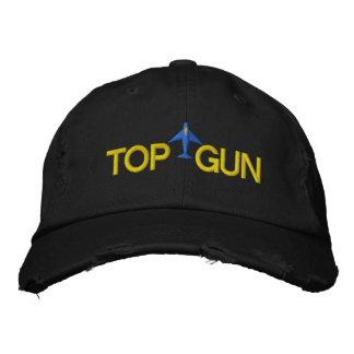 Top Gun bordó el gorra