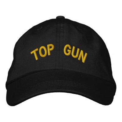 Top Gun Logos Top Gun Gorra Bordada
