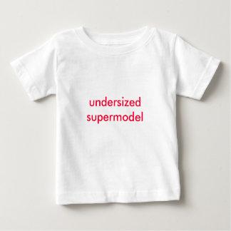 top model de tamaño insuficiente