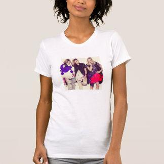 Top modelo de la moda camiseta