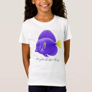 Top púrpura de la muñeca de los chicas de Sailfin