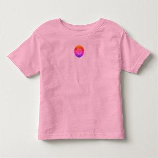 Top rosado del jersey del bebé