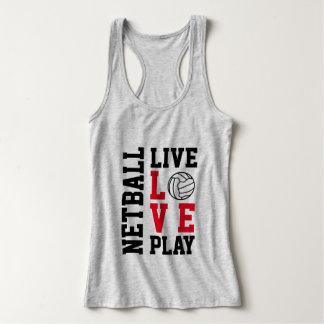 Top vivo del Netball del juego del amor de la cita