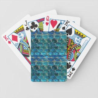 Topaz azul baraja de cartas bicycle