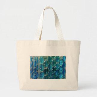 Topaz azul bolsa de tela grande