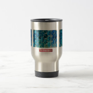 Topaz azul taza térmica