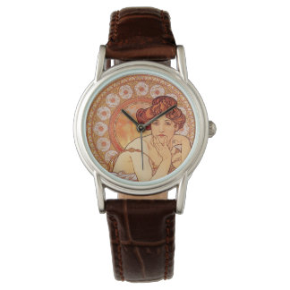 Topaz de Alfonso Mucha Relojes De Mano