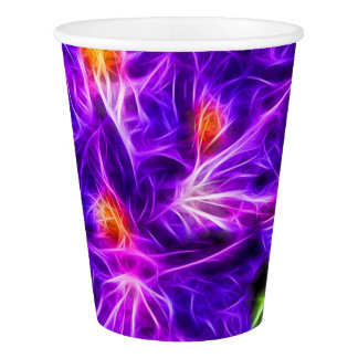 Topaz del rododendro vaso de papel