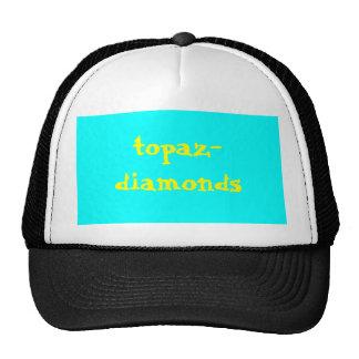 topaz-diamantes gorros bordados