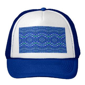 topetones azules tejidos gorras