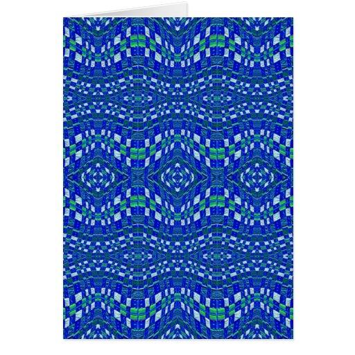 topetones azules tejidos tarjetas
