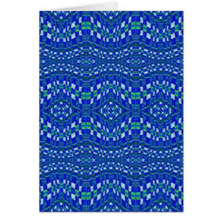topetones azules tejidos tarjeta de felicitación