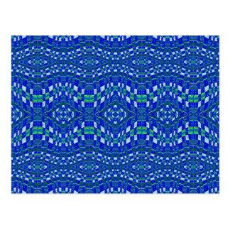 topetones azules tejidos postal