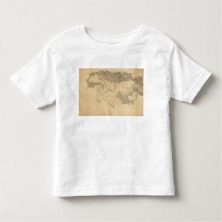 Topografía de Los Ángeles y de San Bernardino Camiseta De Bebé