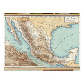 Topografía de México Tarjetas Postales