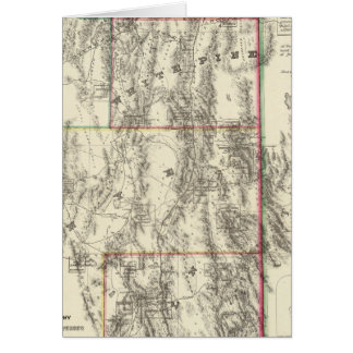 Topografía de Nevada meridional Tarjeton