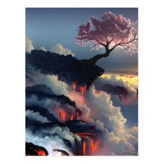 Topografía maravillosa de la fantasía tarjeta postal