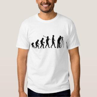 Topógrafo de la tierra camisetas