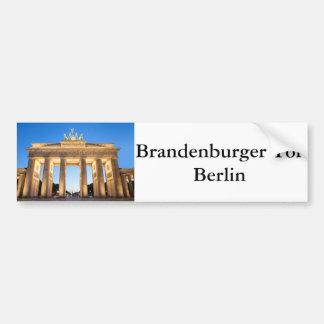 Tor Berlín de Brandenburger Pegatina Para Coche