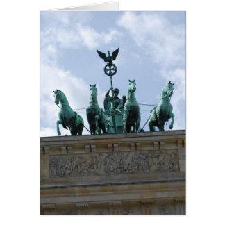 Tor de Brandenburger - Alemania Tarjetas