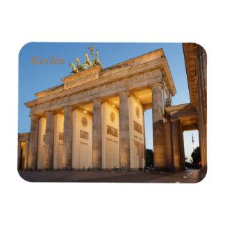 Tor de Brandenburger en Berlín Iman