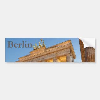 Tor de Brandenburger en Berlín Pegatina Para Coche