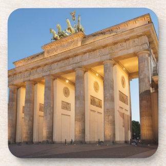Tor de Brandenburger en Berlín Posavasos