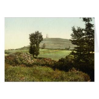 Tor de Glastonbury, Somerset, Inglaterra Tarjeta De Felicitación