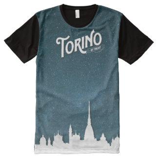 Torino - por todo la camiseta de la impresión
