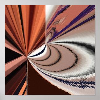 Tormenta cósmica póster
