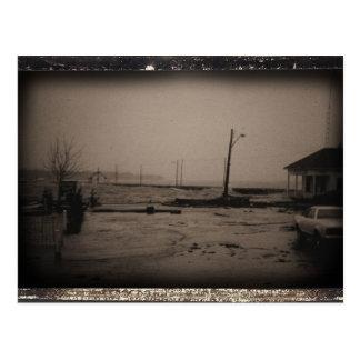 Tormenta en Saint Andrews, postal de la NOTA