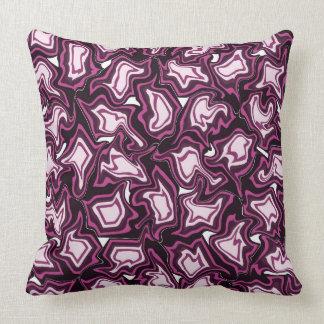 Tormenta púrpura cojín decorativo