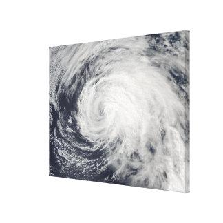 Tormenta tropical Ele en el Pacífico central Impresión En Lona