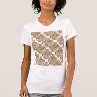 Tornado, diseño digital del arte camiseta