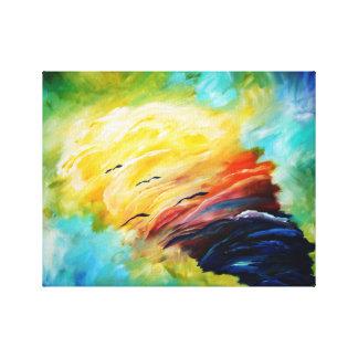 tornado espiritual impresión en lienzo