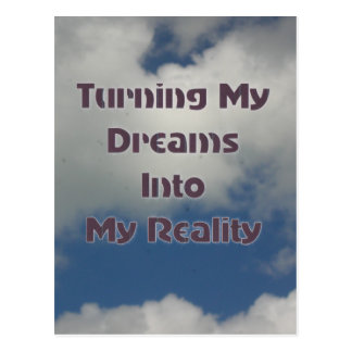 Torneado de sus sueños en realidad postal