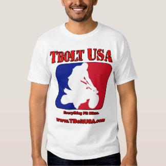 Tornillo en T los E.E.U.U. del logotipo de Pitbike Camiseta
