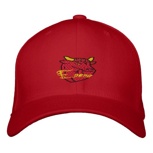 Toro Espana Bull bordó diseño del casquillo Gorras De Beisbol Bordadas