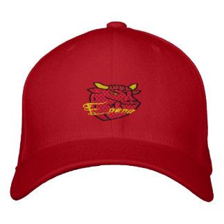 Toro Espana Bull bordó diseño del casquillo Gorra De Beisbol